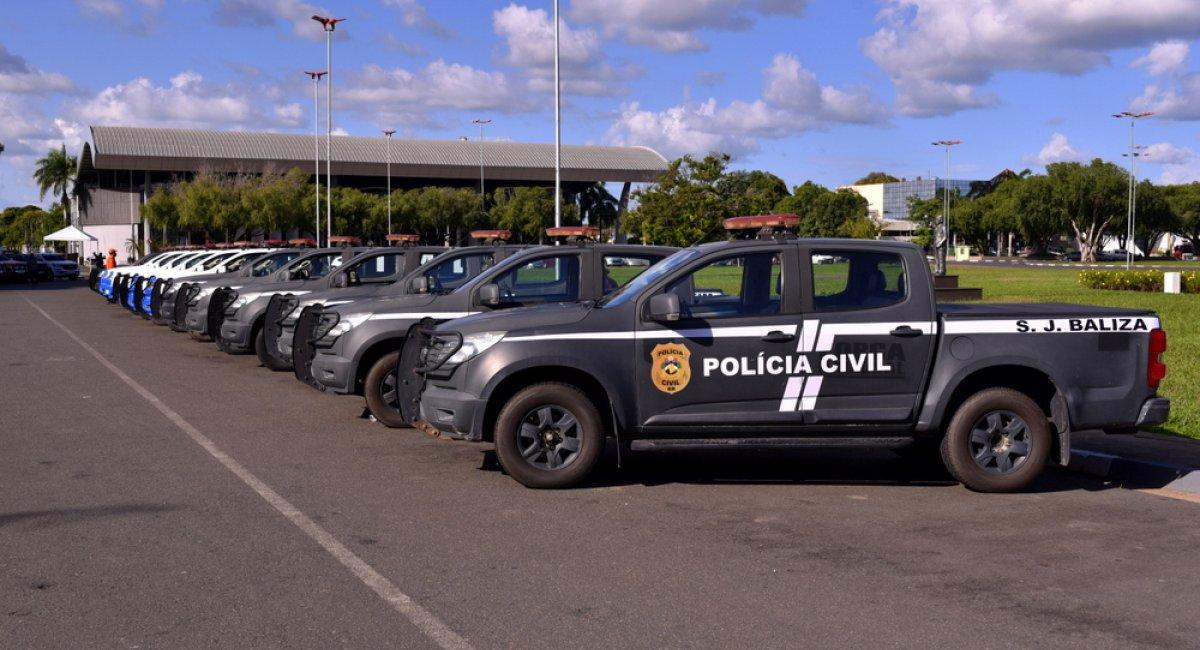 REFORÇO NA FROTA | Polícia Civil recebe viaturas para atender Delegacias do Interior