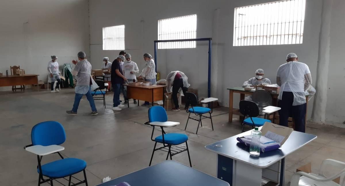 ATENÇÃO HUMANIZADA   Mutirão de Saúde para reeducandos da Pamc segue até o dia 26
