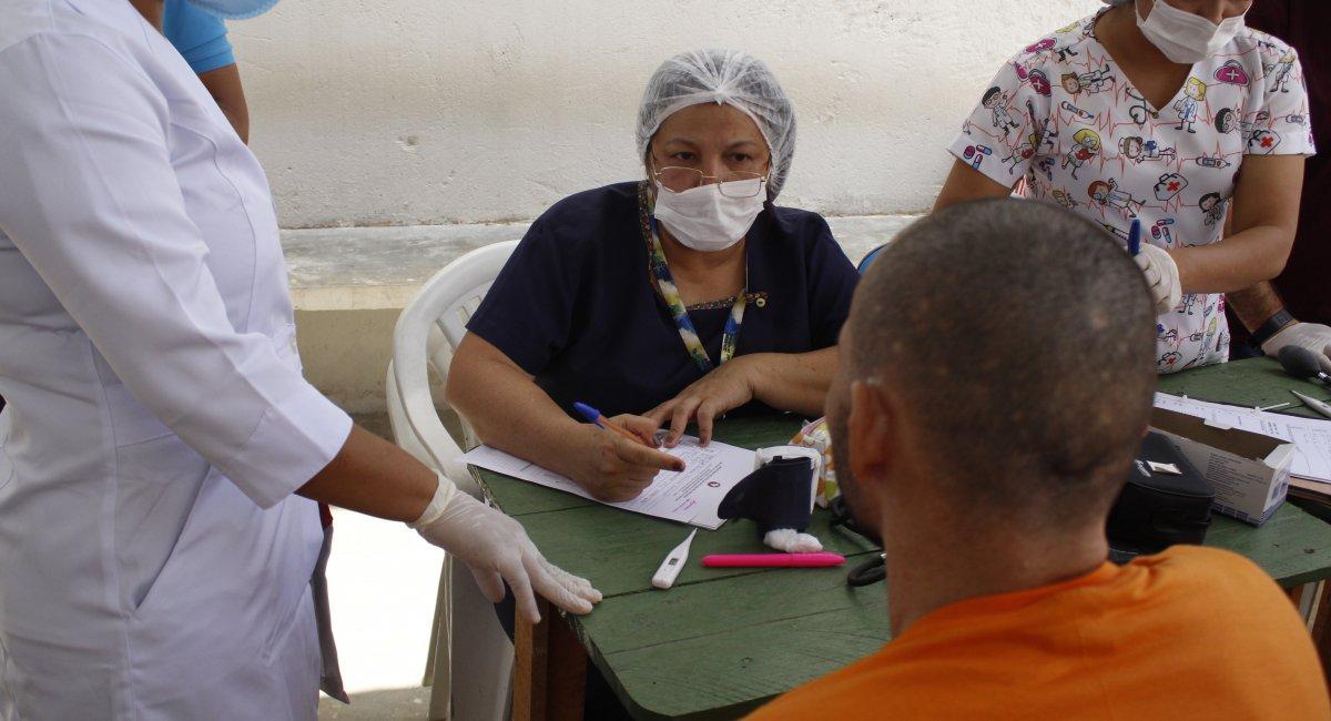 AÇÃO DE SAÚDE NA PAMC | Mais de 2 mil atendimentos foram realizados durante mutirão