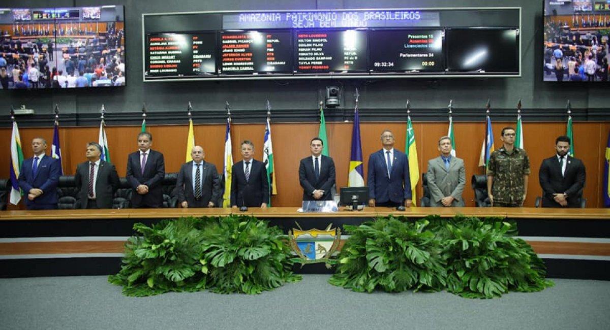 ABERTURA ANO LEGISLATIVO | Denarium destaca avanços na saúde, educação e infraestrutura