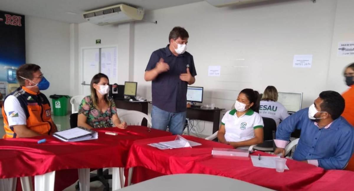 REFORÇANDO O DIÁLOGO | Sesau apresenta aos trabalhadores da enfermagem ações realizadas em prol da saúde roraimense