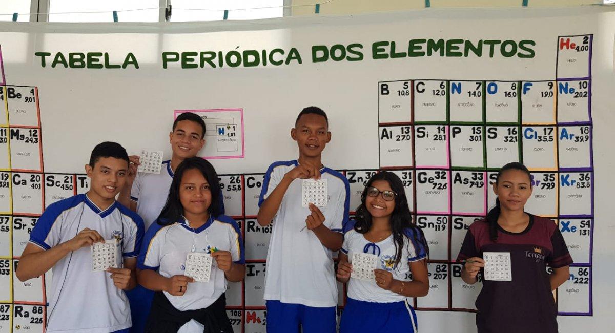 Escola Major Alcides   Realiza projeto em comemoração aos 150 anos da tabela periódica