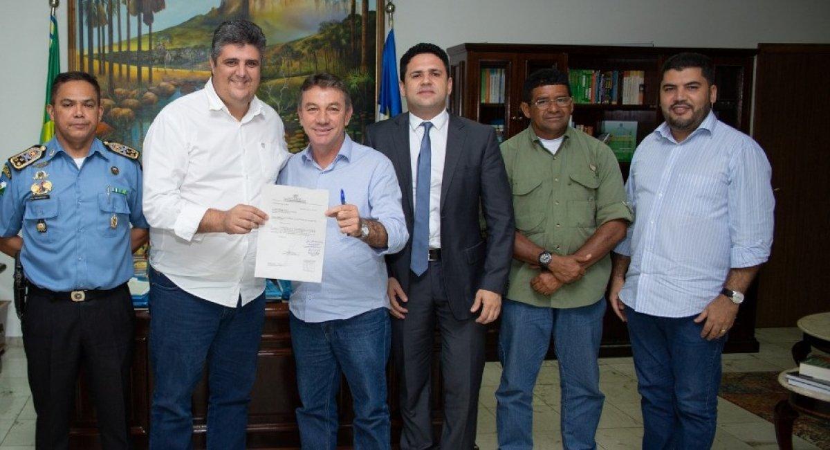 Governo firma parceria para formar guardas civis municipais de Bonfim