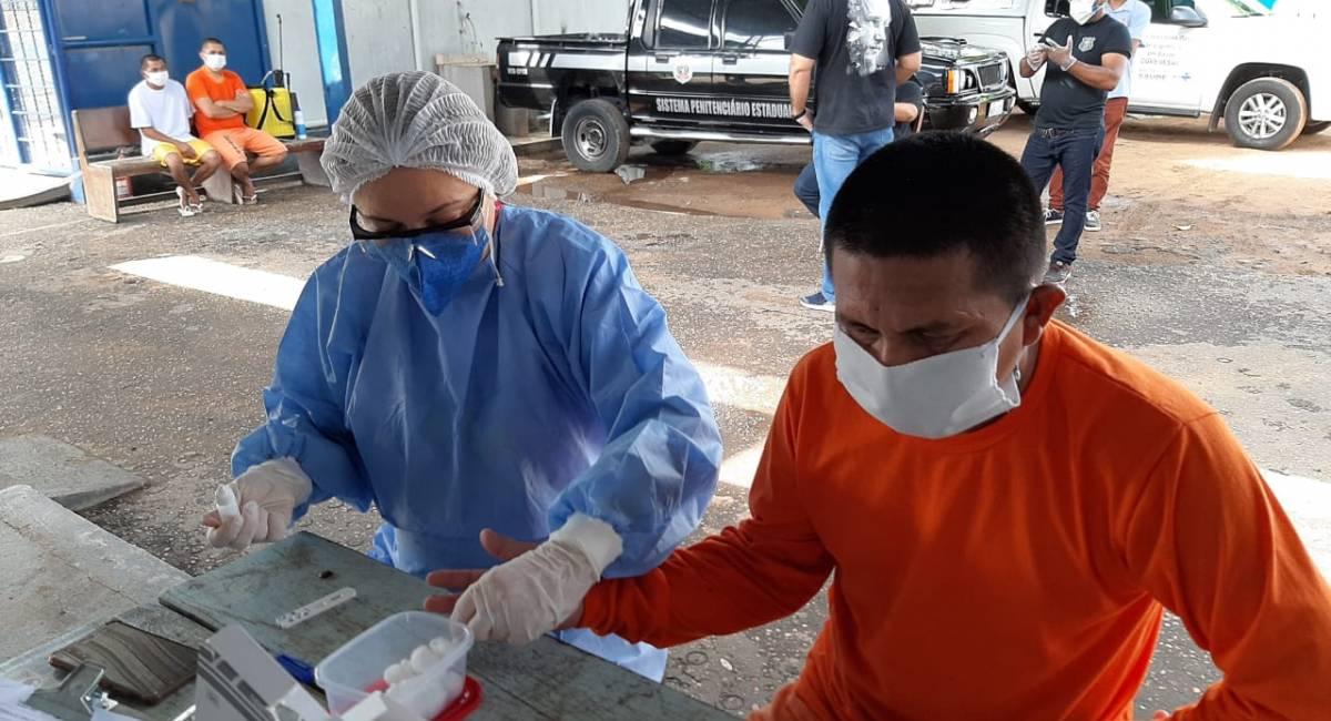 NOVO CORONAVÍRUS | Sesau realiza ação de saúde para reeducandos da Cadeia Pública