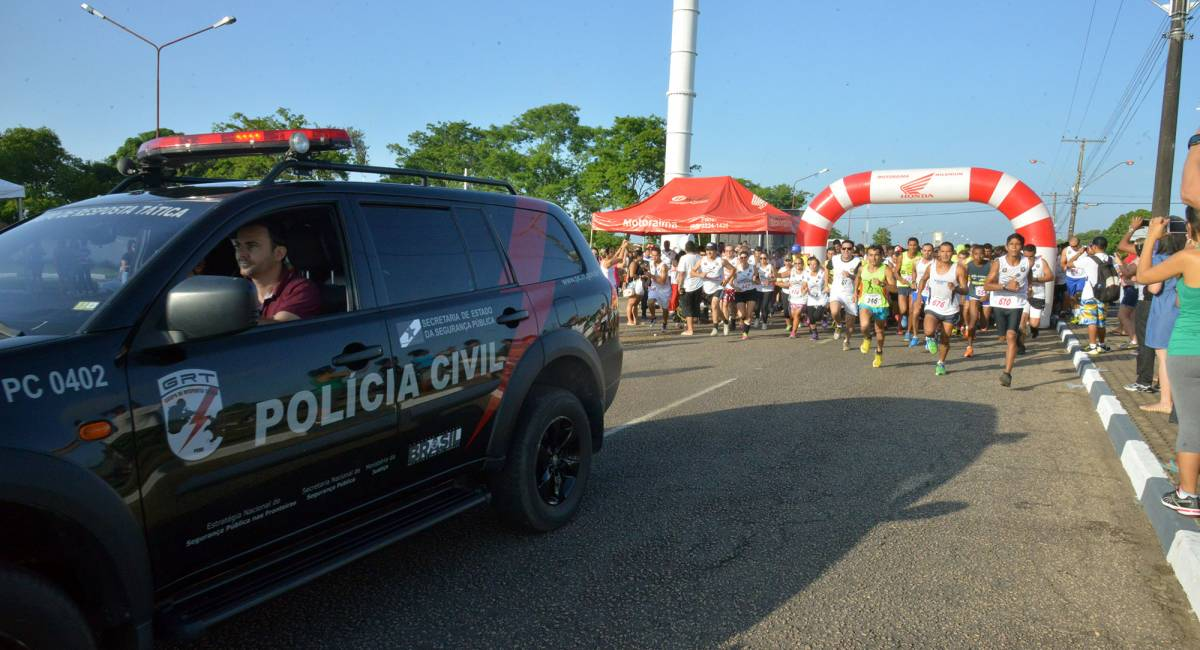 Polícia Civil de Roraima abre inscrições para 2ª Corrida de Rua