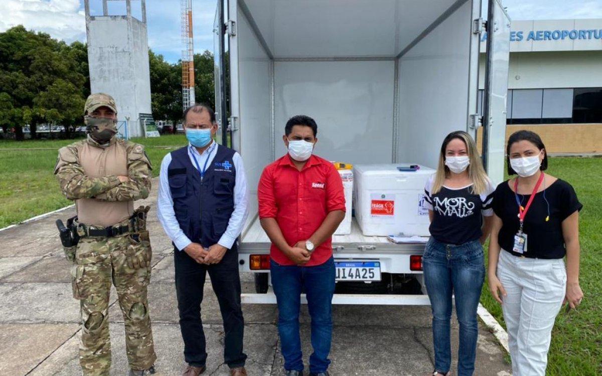 GUERRA CONTRA A COVID-19 | Roraima recebe mais 10.600 novas vacinas para continuar imunização