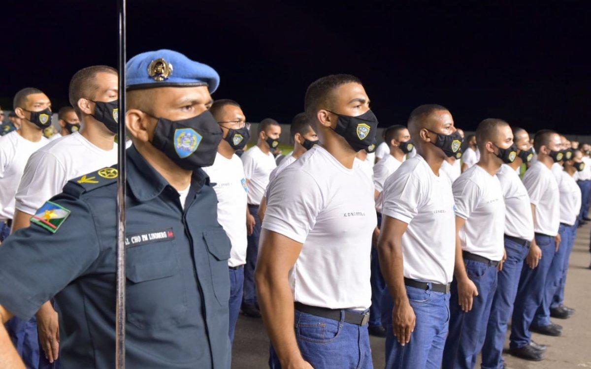 INVESTIMENTO NA SEGURANÇA | Governo empossa quase 400 novos Policiais Militares