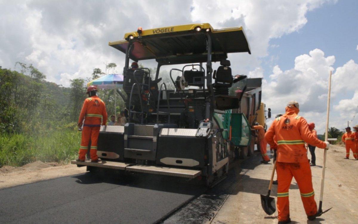 APOIO AO TURISMO   Obras na Estrada de Tepequém devem ser concluídas ainda neste verão